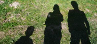 Schatten auf dem Boden